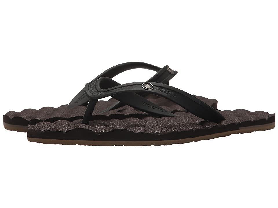Volcom Recliner Rubber 2 Sandal (Brown Combo) Men