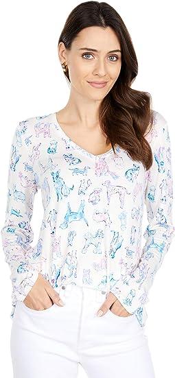 PJ Knit Long Sleeve Top