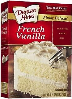 Duncan Hines Signature French Vanilla Cake Mix 16.5 oz