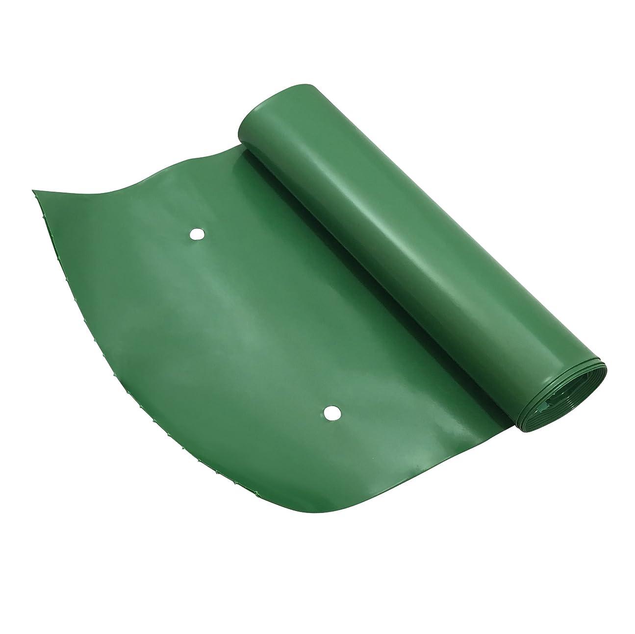 書くコマンド転送Frost King DE200 Standard Plastic Drain Away Downspout Extender, Extends 2.4m, Green