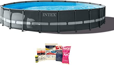 Intex 20ft x 48in Ultra XTR Frame Pool w/Pump, Ladder, Chemical Cleaning Kit