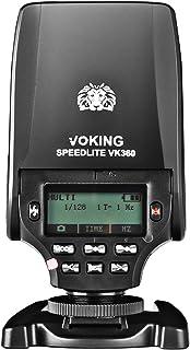 Voking VK360S TTL Master HSS Flash Speedlite for Sony A9 A7III A7IIK A7RIII A6400 A6300 A6000 A6500 and Other MI Hot Shoe ...