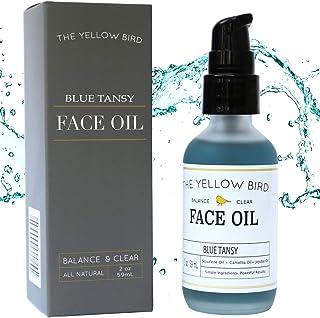 Balancing Blue Tansy Face Oil – Skin Brightening Serum. Anti Aging Collagen Support. Acne Fighting Dark Spot Corrector. Wrinkle & Pore Minimizer. Natural, Vegan Facial Moisturizer.
