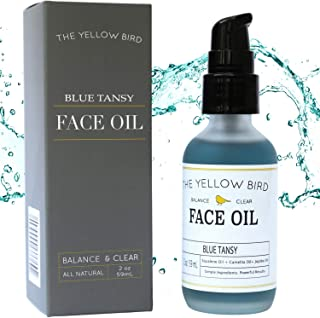 Balancing Blue Tansy Face Oil – Skin Brightening Serum. Anti Aging Collagen Support. Acne Fighting Dark Spot Corrector. Wrinkle & Pore Minimizer. Natural, Vegan Facial Moisturizer.