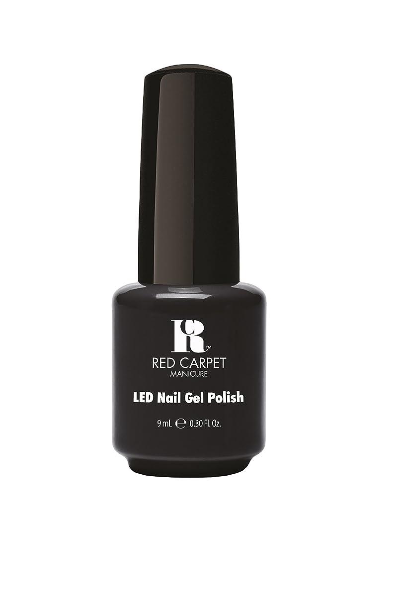 誕生日第四誤解を招くRed Carpet Manicure - LED Nail Gel Polish - Sultry Starlet - 0.3oz/9ml