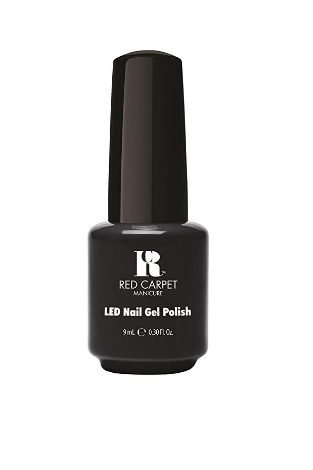 架空の喜び暗記するRed Carpet Manicure - LED Nail Gel Polish - Sultry Starlet - 0.3oz/9ml
