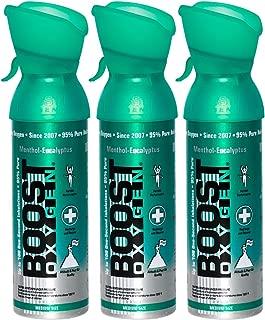 Boost Oxygen: 95% Pure Aviator's Oxygen- 5 Liters