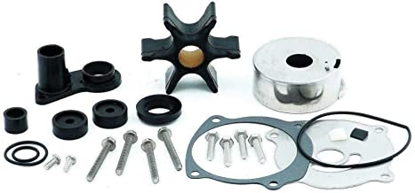 Water Pump Kit for Johnson Evinrude 1979 & Later V4 V6 V8 85 90 115 125 150 175 200 225 235 250 Hp Replaces 395060 18-3390 Please Read Item Description for Exact Applications