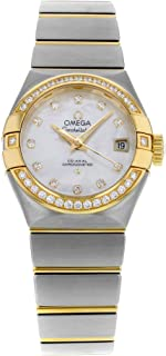 Constellation 123.25.27.20.55.003 18K Yellow Gold and Steel Automatic Ladies Watch