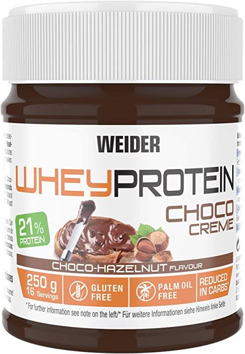 Nutella proteica weider nutrition nut protein spread - 25 ml 20231