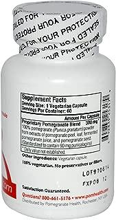 Pomegranate Health CardioPom, 500mg Pomegranate Fruit Extract, 60 Vegetarian Capsules | All-Natural Heart Healthy Antioxidant Formula