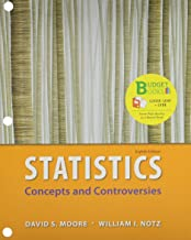 Loose Leaf Version for Statistics: Concepts & Controversies & EESEE Access Card 8e & LaunchPad for Moore's Statistics: Concepts and Controversies (12 month access) 8e