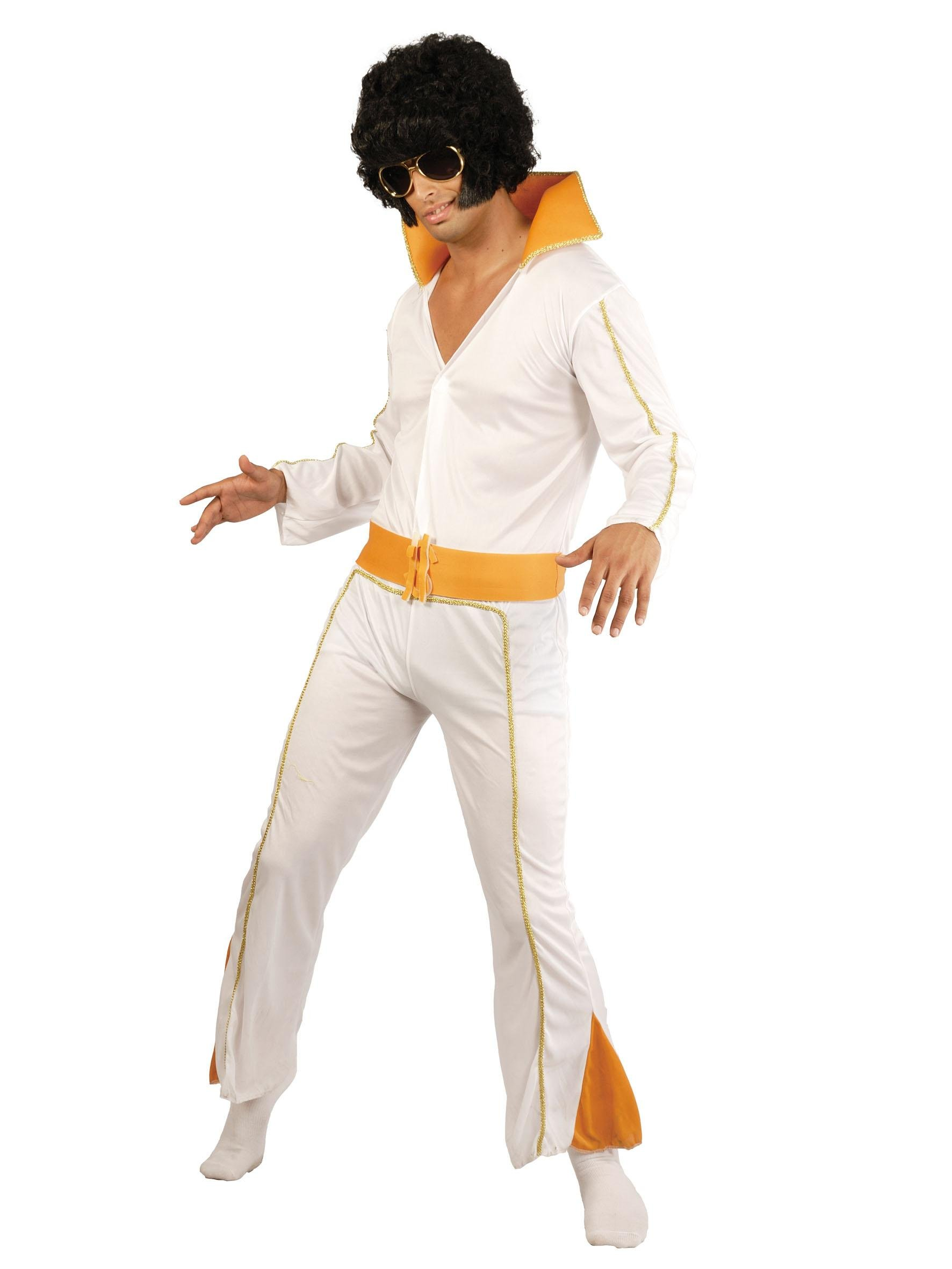 Disfraz Adulto REY DEL ROCK (Elvis): Amazon.es: Juguetes y juegos