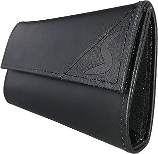 smokeshirt® premium Borsello Portatabacco in vera pelle vintage, porta tabacco pellein, cartine filtro singola o doppia co...