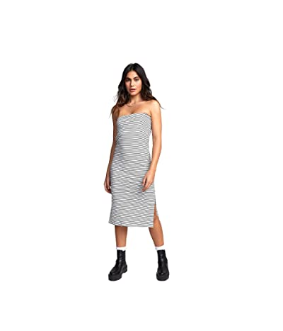 RVCA Steady Dress (Off-White) Women