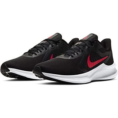 Nike Downshifter 10 (Black/University Red/White) Men