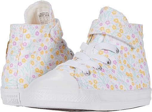 White/Topaz Gold/Peony Pink
