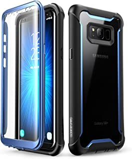 i-Blason Ares Full-Body Rugged Clear Bumper Case with Built-in Screen Protector for..