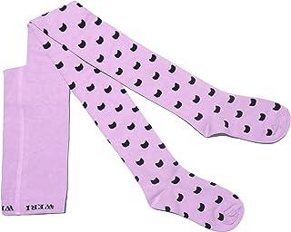 Weri Spezials, Leotardos de algodón para bebés y niños para niñas - Los gatos son nuestros mejores amigos en varios diseños y colores.