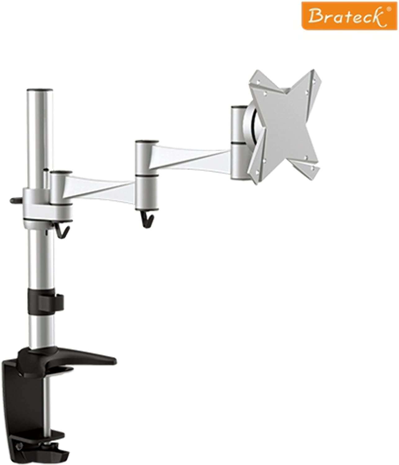 Brateck Single Flexi Arm Monitor Mount Up to 27'