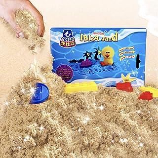 BeebeeRun Montessori Juego de Arena Cinética para Niños de 2 3 4 5 Años, los Primeros Juguetes de Arena Naturales Magica Educativos para Mi Niño 【0.78kg-E20200102】