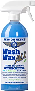 Wet or Waterless Car Wash Wax 16 oz. Aircraft Quality Wash Wax for your Car RV &..