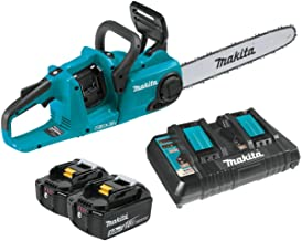 "Makita XCU04PT LXT Lithium-Ion Brushless Cordless 16"" Chain Saw Kit (5.0Ah)"