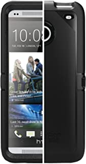 OtterBox Commuter Case for HTC One M7 - Retail Packaging - Black (Discontinued by Manufacturer)