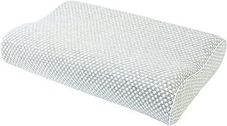 フランスベッド 低反発枕 エアレートピロー コンフォートハード(かため) グレー [洗える枕カバー/消臭成分配合]