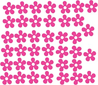 Pegatinas de vinilo de calidad, diseño de flores, para coche, bicicleta, moto y casco de mujer