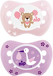 NEWBORN SOOTHERS/SILICONE/LILA & ROSE / 0M+