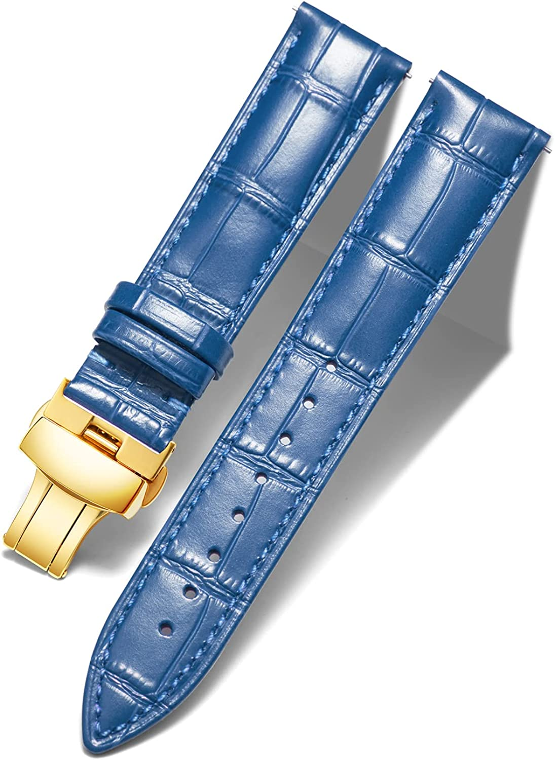 High quality new Genuine Calfskin Leather Watch Replacement Strap Cheap super special price Bands Alligator