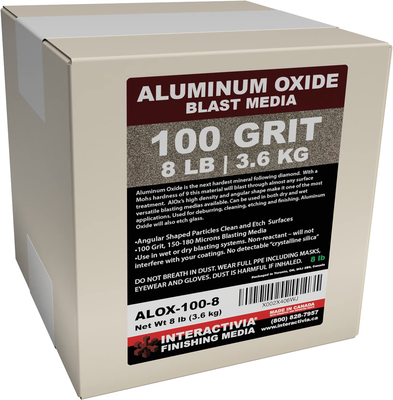 Max 71% OFF #100 Aluminum Oxide - 8 Max 80% OFF LBS or Fine Sand Blast Medium to 3.6kg