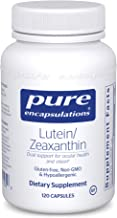 Pure Encapsulations - Lutein/Zeaxanthin - High Strength Blend for Macular Support and Overall Visual Functioning - 120 Cap...