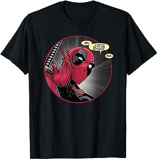 Marvel Deadpool Wade Wilson Gotta Go to the Bathroom Comic T-Shirt