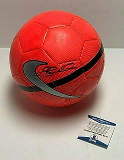 3642a86d1d4 Steven Gerrard Signed Blue Nike Soccer Ball  LA Galaxy Beckett BAS B55748 -  Beckett Authentication