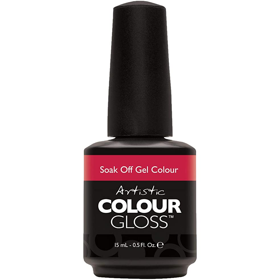 台風スイッチ仮称Artistic Colour Gloss - Oh So Red-Tro - 0.5oz / 15ml