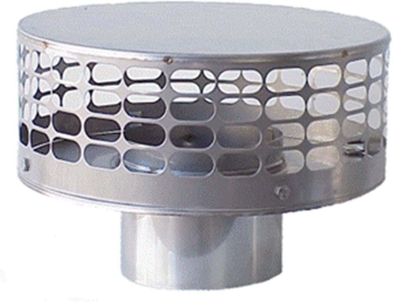 1-Pack The Forever Cap CCSC1335 13 x 35-Inch Multi Flue Stainless Steel Crown Mount Chimney Cap