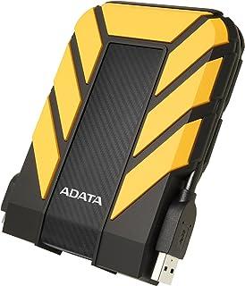 Adata HD710 Pro 1Tb USB 3.1 Ip68 Waterproof,Shockproof,Dustproof Ruggedized External Hard Drive, Yellow, AHD710P-1TU31-CYL
