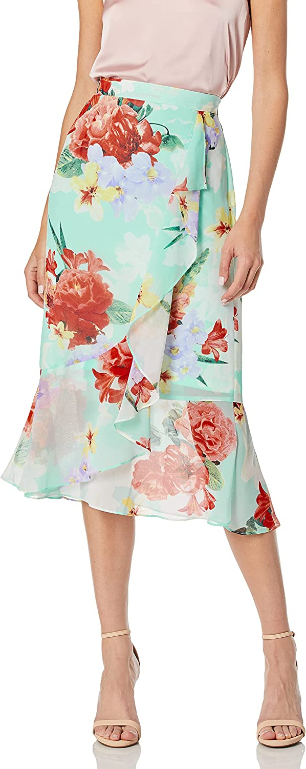 Tucson Mall Calvin Klein Women's Skirt Front Ruffle SEAL limited product