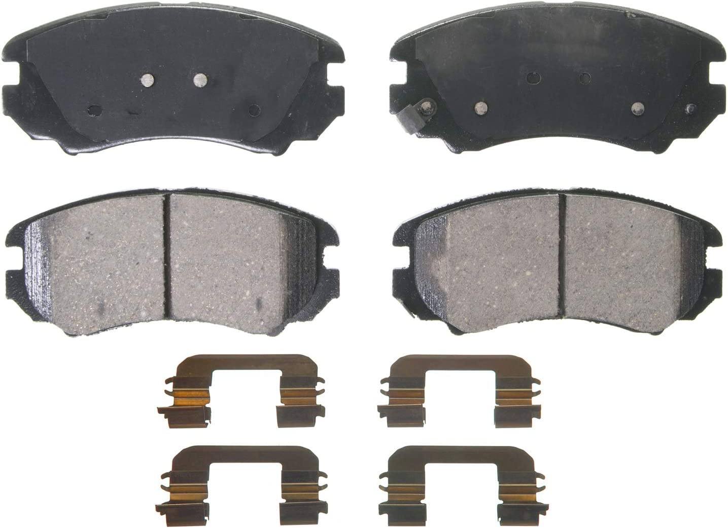 National products Wagner QuickStop ZD924 Max 46% OFF Ceramic Set Brake Pad Disc