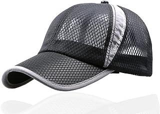 [Make 2 Be] メッシュ キャップ ジョギング スポーツキャップ アジャスター付 紫外線対策 帽子 メンズ レディース ユニセックス 軽量 薄型 速乾 通気性抜群 調整可能 オールシーズン MF41