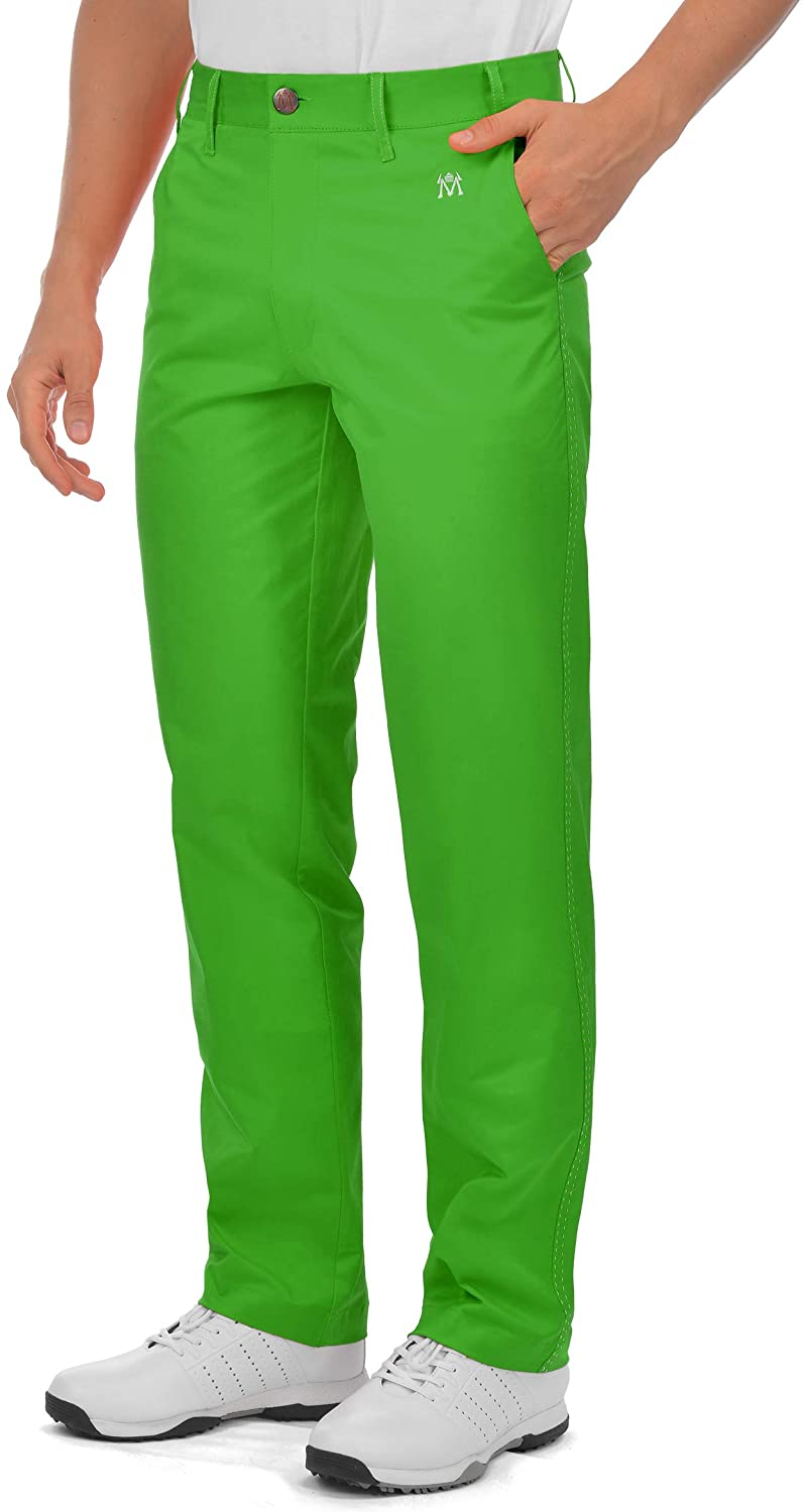 Men's Golf Pants Stretch Relaxed Fit Tailored Tech Front favorite Flat Pe Max 53% OFF