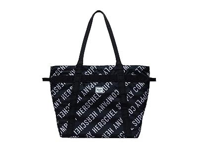 Herschel Supply Co. Alexander Zip (Roll Call Black/Sharkskin) Tote Handbags