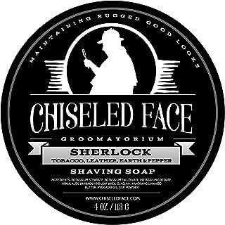 chiseled face sherlock