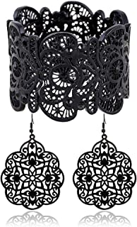 Best black lace earrings Reviews
