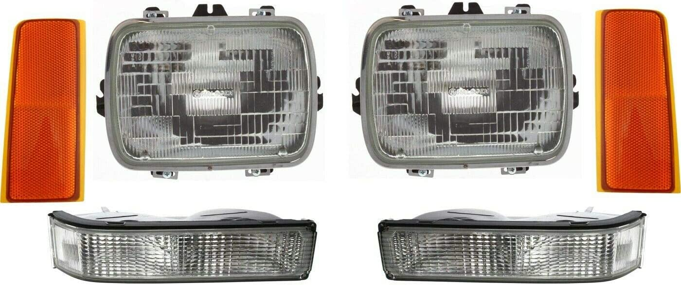 VioletLisa New Replacements Headlight Kit Compatible Super-cheap Front New sales with