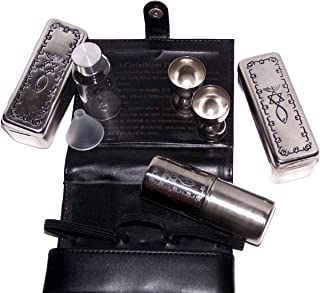 Holy Land Market Meal That Heals Communion Kit - Complete Set with Leather Belt Bag with Messianic Seal