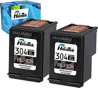 comprar comparacion HavaTek 304XL Cartuchos de tinta Remanufacturados para HP 304XL Negro Compatibles con hp DeskJet 2630 2620 3720 3730 3732 ...