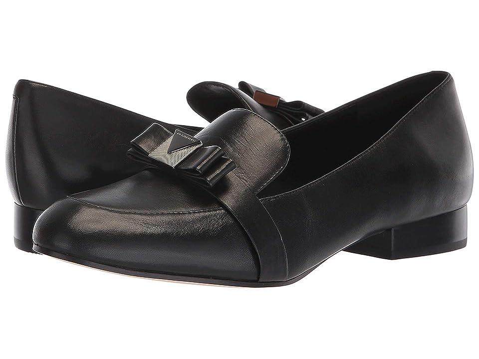 MICHAEL Michael Kors Caroline Loafer (Black Smooth Calf) Women